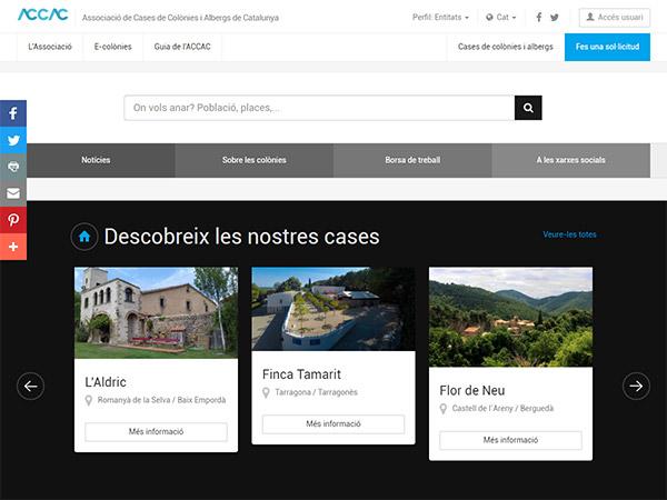 Associació de Cases de Colònies i Albergs de Catalunya (ACCAC)